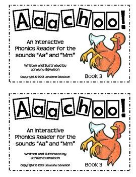 "Symple Readers Book 3: ""Achooo"" Phonics Reader"