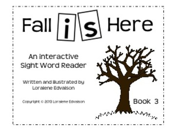 """Symple Readers Book 3:""""Is"""" Sight Word Reader"""