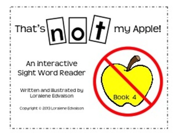 """Symple Readers Book 4:""""Not"""" Sight Word Reader"""