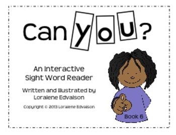 """Symple Readers Book 6:""""You"""" Sight Word Reader"""