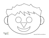 "Symple Reader's Week 1: Fine Motor  ""Boy Tracing Activity"""
