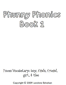 "Symple Reader's Week 1: Phonics ""Phunny Phonics"""