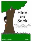 Symple Reader's Week 1: Picture Reader Book 1 Hide and Seek
