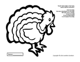 "Symple Reader's Week 10: Fine Motor Cutting ""Turkey Feathers"""