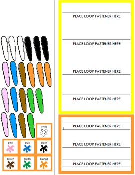 """Symple Reader's Week 10: Math: Colors: """"Turkey Feathers"""""""