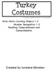 "Symple Reader's Week 10: Math: Counting and Numbers: ""Turkey Costumes"""