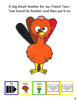 "Symple Reader's Week 10: ""Turkey Feathers"" Comprehension Book"