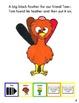 "Symple Reader's Week 10: ""Turkey Feathers"" Comprehension Book"