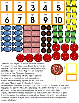 Symple Readers Week 11: Make A Pizza Counting