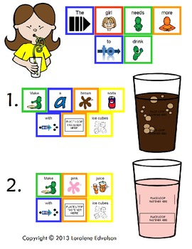 Symple Reader's Week 12: Juice and Soda: Color Identification Booklet