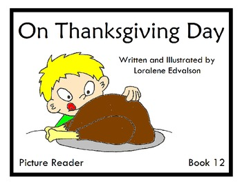 Symple Reader's Week 12: On Thanksgiving Day Picture Reader