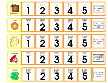 Symple Reader's Week 12: What is in the Salad? Numbers and Counting Activity