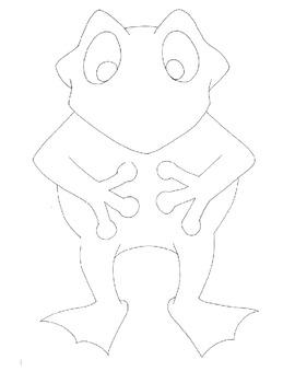 Symple Reader's Week 13: Dress the Frog: Storybook Activity