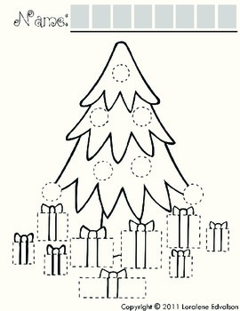 "Symple Reader's Week 14: Tracing ""Christmas Tree"" and ""Rudolph"""