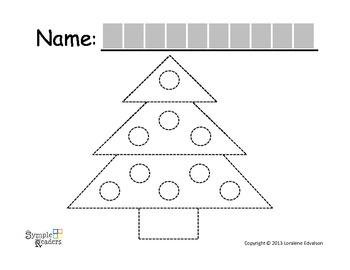 Symple Reader's Week 14: Tracing Worksheet: TREE