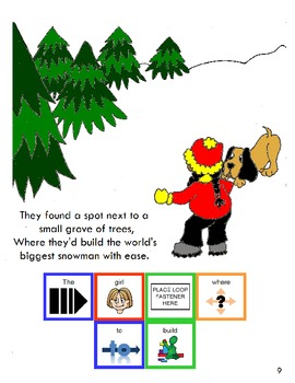 "Symple Readers Week 16: ""The World's Biggest Snowman"" Comprehension Book"
