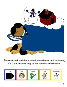"""Symple Readers Week 16: """"The World's Biggest Snowman"""" Interactive Book"""