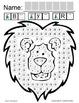 Symple Readers Week 17: Fine Motor: Dot Marker Activity Lion & Tiger