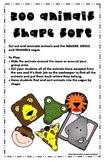 Symple Reader's Week 18: Animal Shape Sort