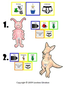 "Symple Reader's Week 18: ""Animals in Underpants"" Color Recognition."