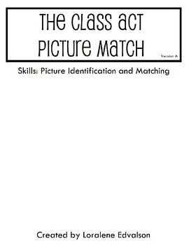 Symple Reader's Week 18: Picture Match