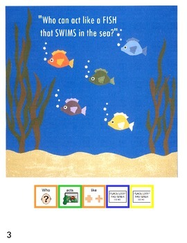 """Symple Reader's Week 18:  """"The Class Act"""" Comprehension Book"""
