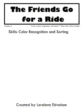 "Symple Reader's Week 2: ""Friends Go for a Ride"" Color Recognition"