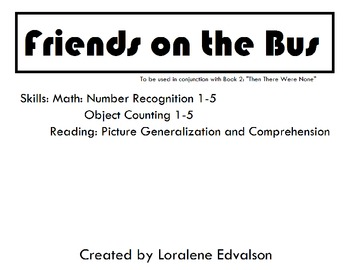 "Symple Reader's Week 2: ""Friends on the Bus"" Counting and Number recognition"