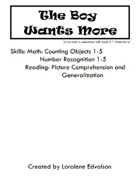 "Symple Readers Week 3:  ""The Boy Wants More"" Math Activity"