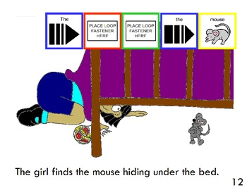 """Symple Readers Week 4: """"A Boy, A Girl, and A Mouse"""" Comprehension Book"""