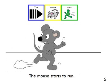 """Symple Readers Week 4: """"A Boy, A Girl, and A Mouse"""" Picture Reader"""