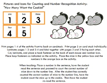 Symple Readers Week 4: How Many Want the Cookie? Number Recognition