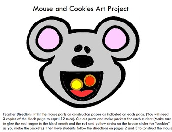 Symple Readers Week 4: Mouse Art Activity