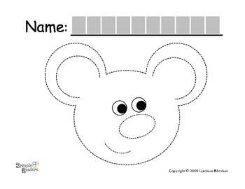 Symple Readers Week 4: Mouse Tracing Activity