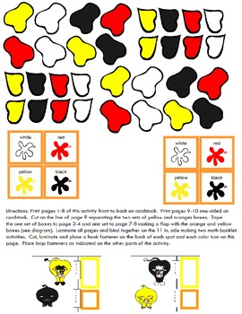 Symple Readers Week 5: Animal Spots color identification