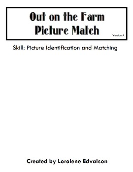 Symple Readers Week 5: Matching Activity