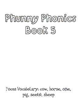 Symple Readers Week 5: Phunny Phonics