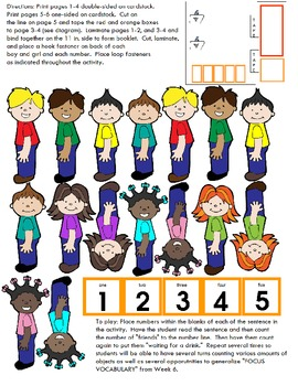 """Symple Reader's Week 6: Math: Counting and Numbers """"Waiting for a Drink"""""""