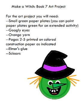 Symple Reader's Week 7: Art Project: Make A Witch