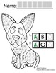 """Symple Reader's Week 7: Dot Markers: """"Bird and Dog"""""""