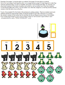 Symple Reader's Week 7: Math: Counting and Numbers: Witch's Brew