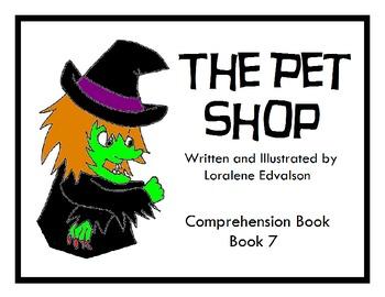 Symple Reader's Week 7: The Pet Shop: Comprehension Book