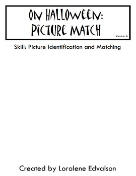Symple Readers Week 8: Matching Activity.