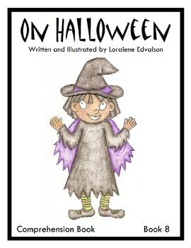 """Symple Readers Week 8: """"On Halloween."""" Comprehension Book"""