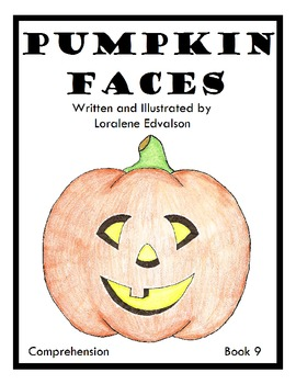 "Symple Readers Week 9: ""Pumpkin Faces"" Comprehension Book"