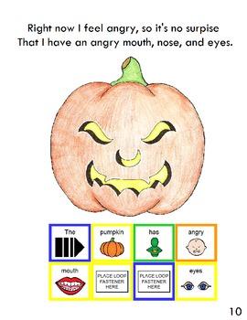 "Symple Readers Week 9: ""Pumpkin Faces"" Comprehension Book"