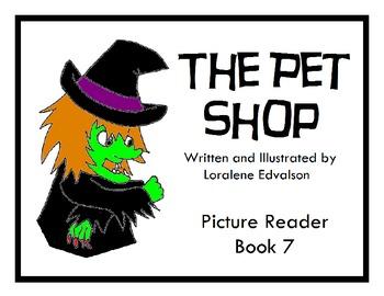 """Sympler Reader's Week 7: """"The Pet Shop"""" Picture Reader"""