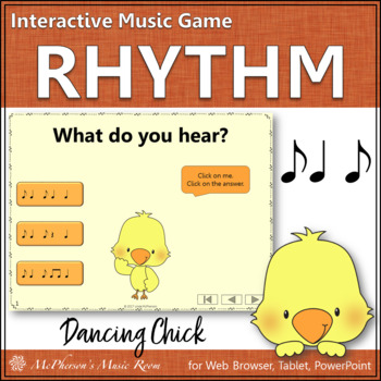 Spring Music Game: Syncopa Interactive Rhythm Game {Dancing Chick}