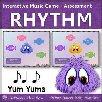 Syncopa Note Yum Yums Interactive Rhythm Game (syncopation)
