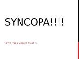 Syncopa Rhythm Presentation